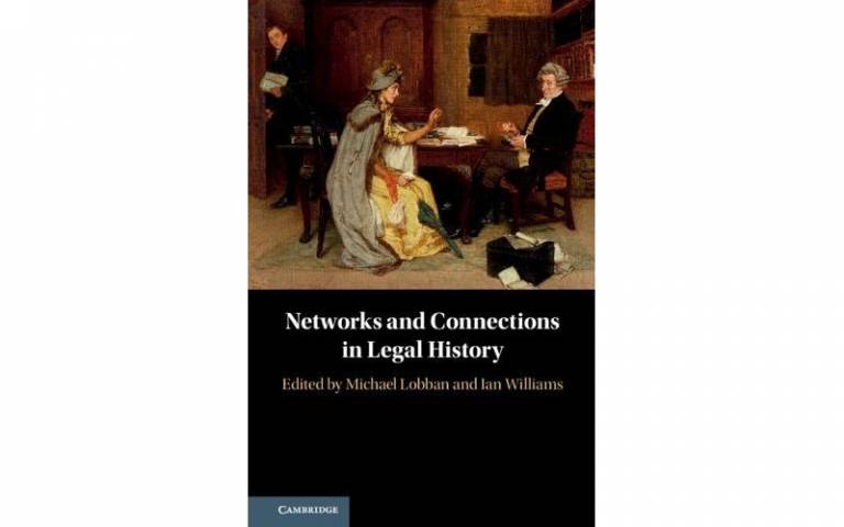Book cover of Networks and Connection in Legal History