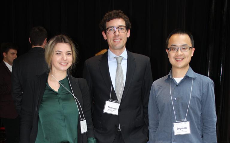 UCL Laws PhD students present at YCC