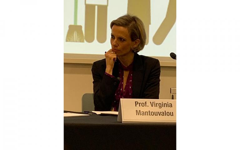 Professor Virginia Mantouvalou