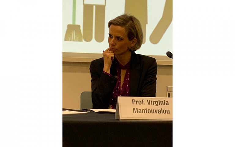 Professor Virginia Mantouvalou