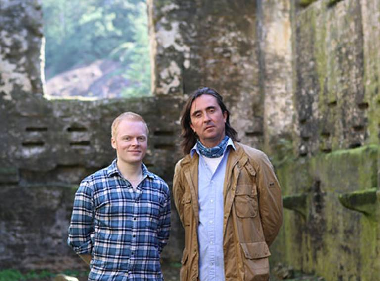 Tim Causer and Neil Oliver
