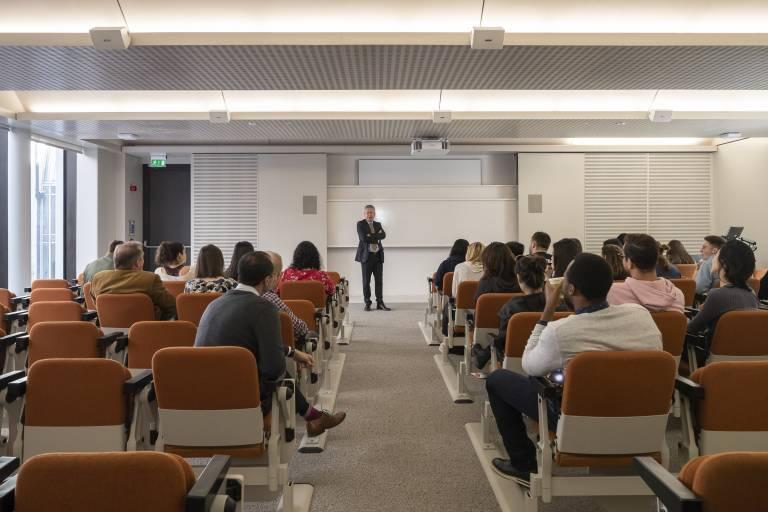 Gideon Schreier lecture theatre