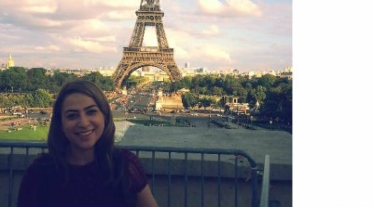 Zainab Eiffel Tower