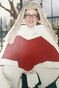 Dame Margaret Myfanwy Wood Booth DBE