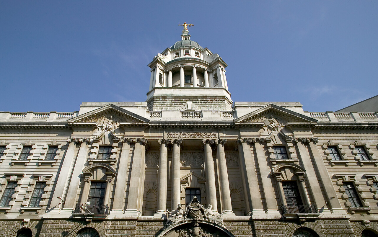 Building of the Central Criminal Court in London