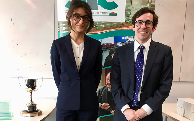 UCL Laws LLB students compete in CIC