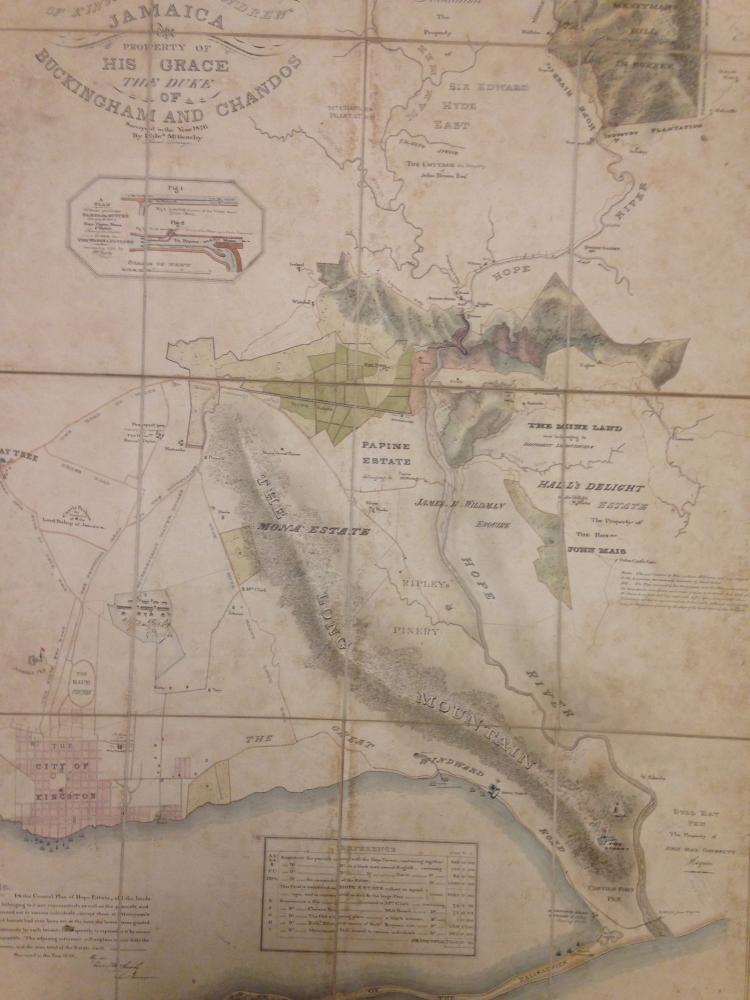 Hope map of 1826