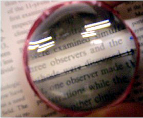 Image: Text magnifier