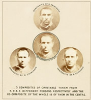 Composite photographs of criminals, c1880