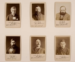 Photographs of patients at Bethlem Royal Hospital