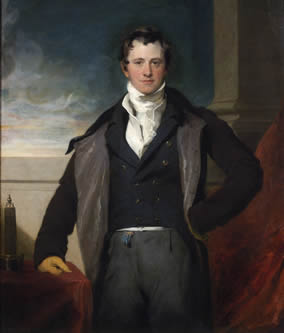 Humphry Davy painting