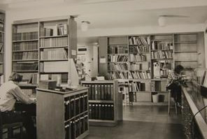 The 1st floor Institute of Archaeology Library