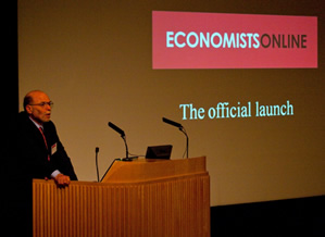 Lauch of Economists Online