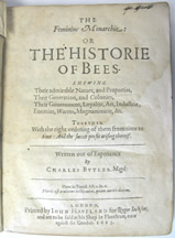 Historie of Bees cover
