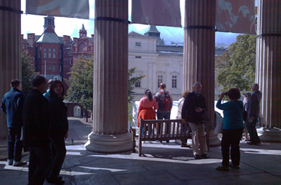 Open House London 2011, UCL Portico