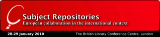 Subject Repositories Conference logo