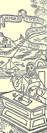 Part of the woodcut from Lunarium ab anno 1490 ad annum 1550