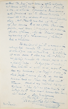 Letter from Charles Dickens to Eliza Davis about the Jewish characters in his novels