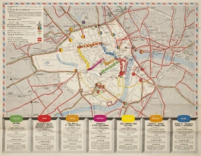 Coronation - public transport map of London © Transport for London