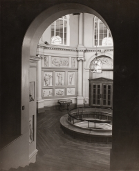 View of the Flaxman Gallery in the 1960s.