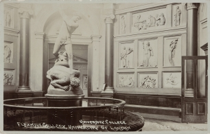 The Flaxman Gallery as it appeared from the 19th to the early 20th century.