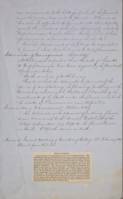 Flaxman Gallery Committee of Management Minutes,20 November 1847.