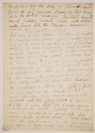 Flaxman's Naples Journal. [Not on display]