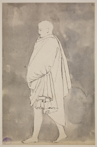 Flaxman's  Naples Journal. Folio 8.