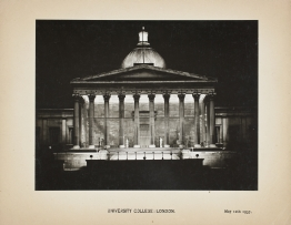 Photograph of the Portico, 12 May 1937.
