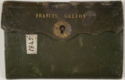 Galton's passport case, 1845