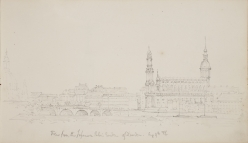 Drawing of Dresden