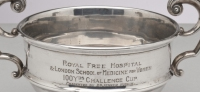 Royal Free Hospital & London School of Medicine for Women.  100 Yds Challenge Cup