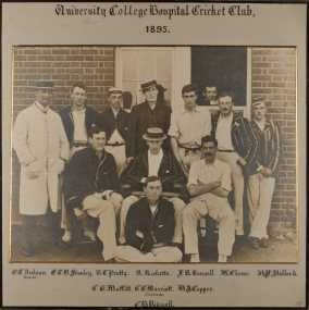 University College Hospital Cricket Club 1895