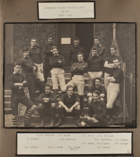 University College Hospital R.F.C. 1st XV 1892-93