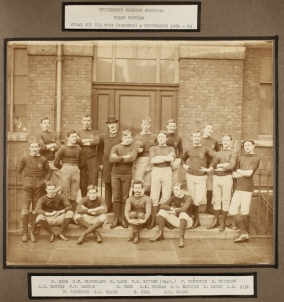 University College Hospital, First Fifteen, Final Cup Tie Guys (Holders) v. University 1885-86