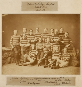University College Hospital Football Club 1880-81