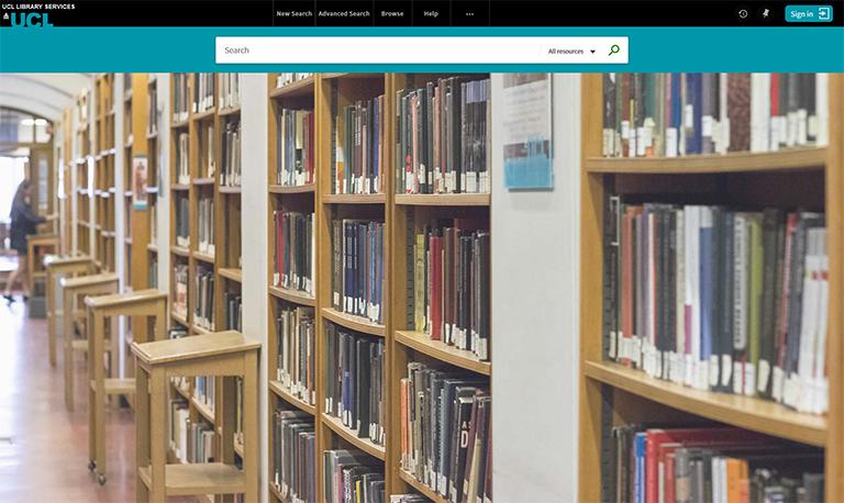Screenshot of new Explore UI