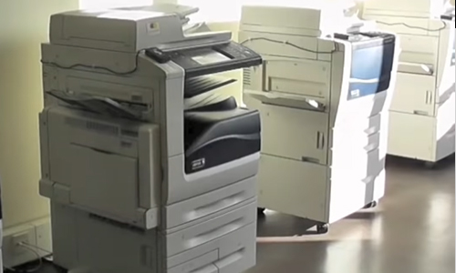 Photo of printers