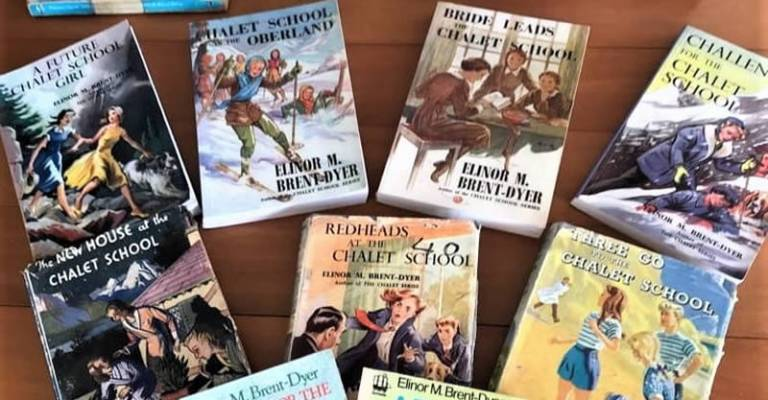 Collection of books in the 'Chalet School' series