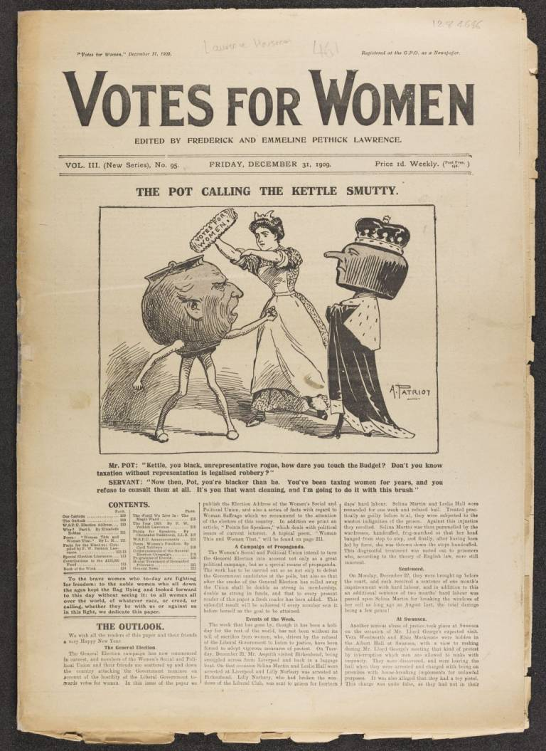 Votes for women Vol 3 (New Series), No. 95