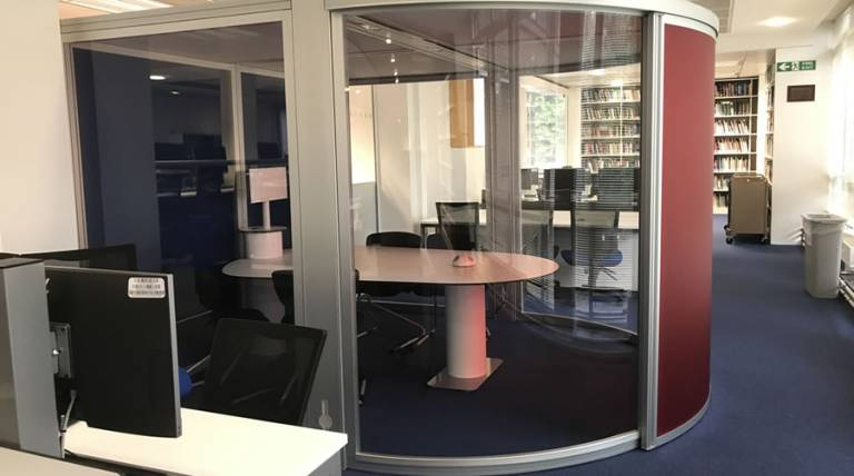 Meeting room at Institute of Child Health Library