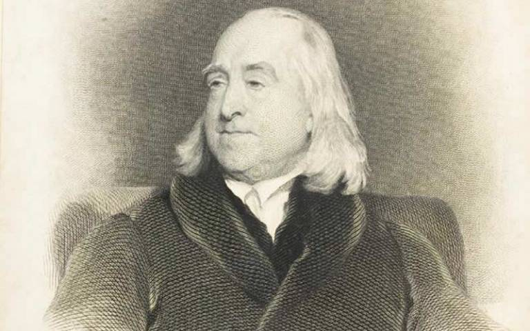 Portrait of Jeremy Bentham