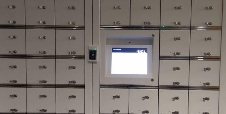 UCL lockers