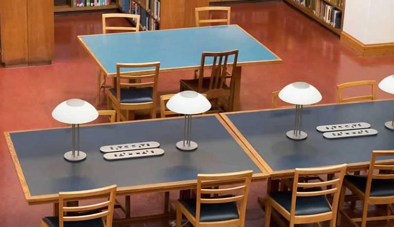 Main Library desks