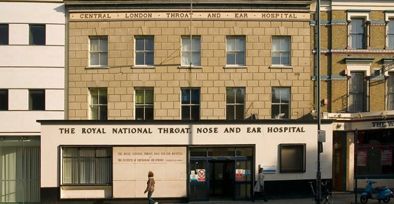 Exterior of the Royal National Throat, Nose and Ear Hospital