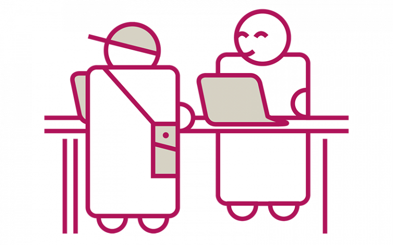 Graphic representing group study