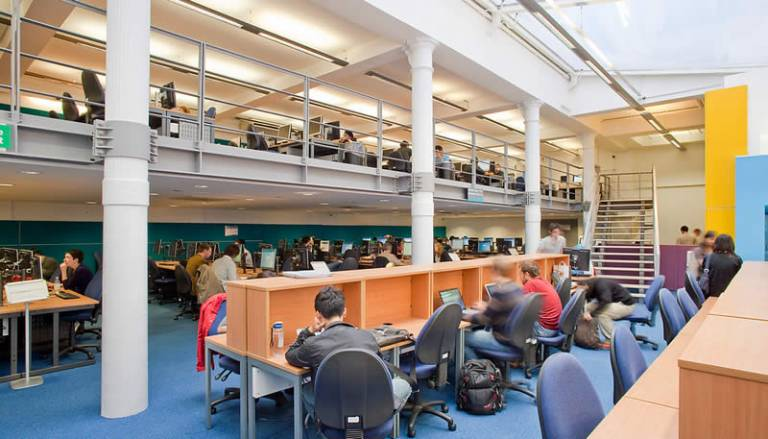 UCL Science Library, mezzanine level