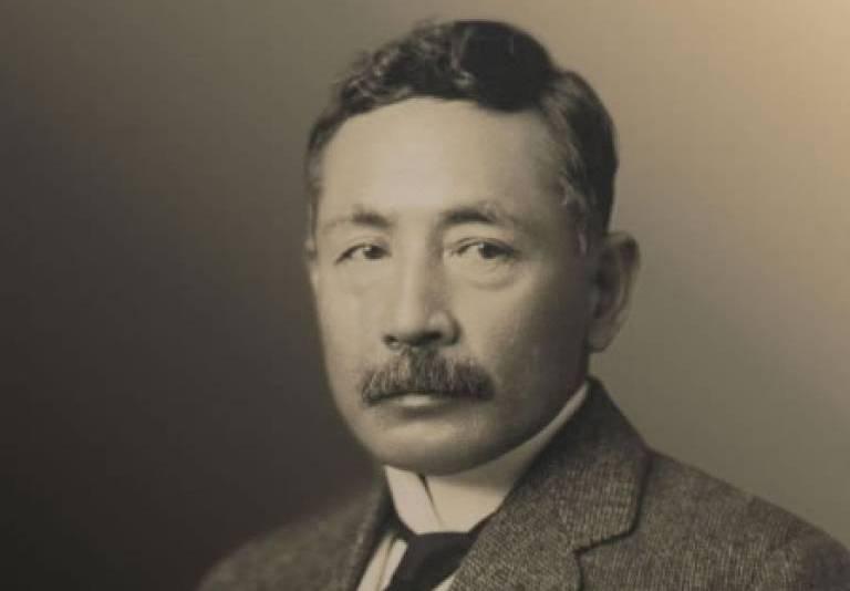 Portrait of Natsume Soseki