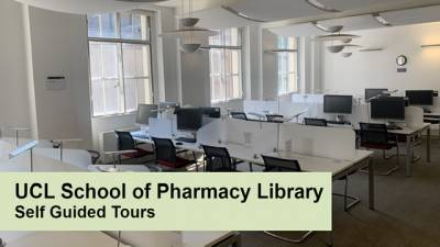 UCL School of Pharmacy self-guided tour