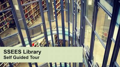UCL SSEES Library self-guided tour